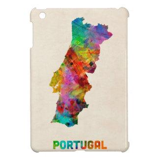Portugal Watercolor Map Case For The iPad Mini