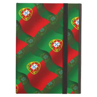Portugal Waving Flag Cover For iPad Air