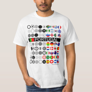 Portugal World Cup 2010 Group G Indicated T-Shirt