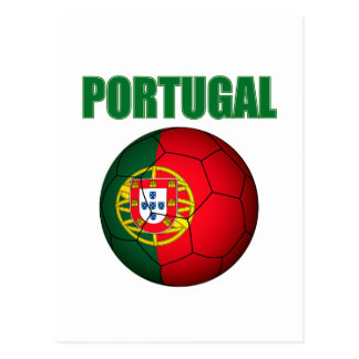 Portugal World Cup t-shirt Postcard