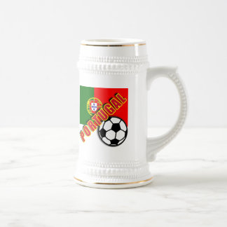 PORTUGAL World Soccer Fan Tshirts Beer Stein