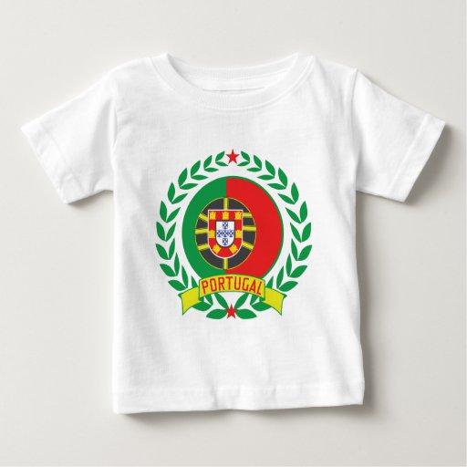 Portugal Wreath Baby T-Shirt