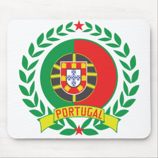 Portugal Wreath Mouse Pad