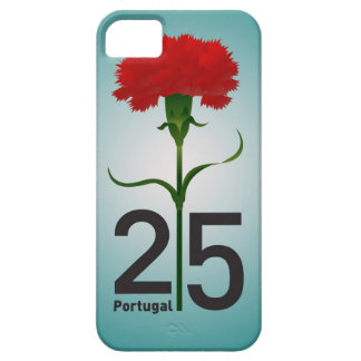 Portugal y clavel rojo iPhone 5 Case-Mate protectores