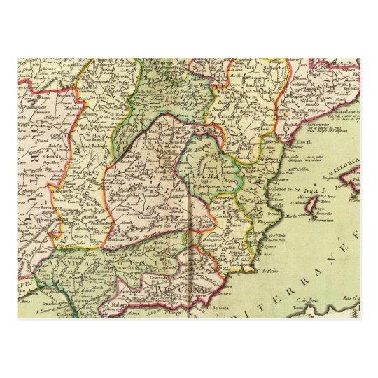 Portugal y España Tarjeta Postal