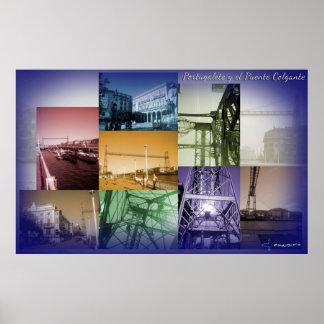 Portugalete y el Puente Colgante Póster