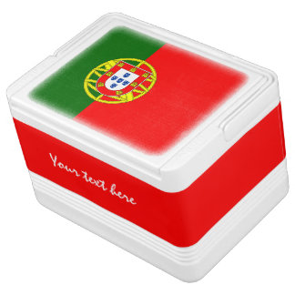 Portugese flag can cooler box | Portugal pride