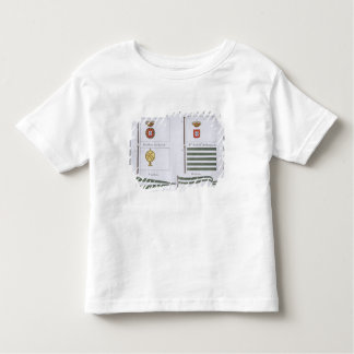 Portugese Flags, from a French book of Flags, c.18 T Shirt