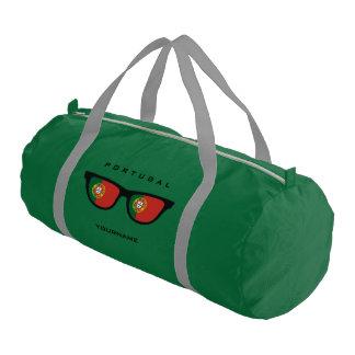Portugese Shades custom duffle bags