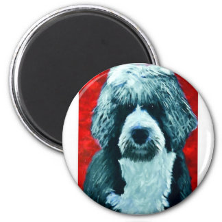 Portugese Water Dog Magnet