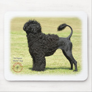 Portugese Water Dog Mouse Mats