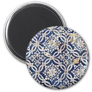 Portugués Azulejo del vintage Iman Para Frigorífico