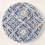 Portugués Azulejo del vintage Posavasos Manualidades
