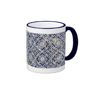 Portugués Azulejo del vintage Taza