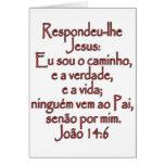 Portugués del 14:6 de Juan Tarjeton