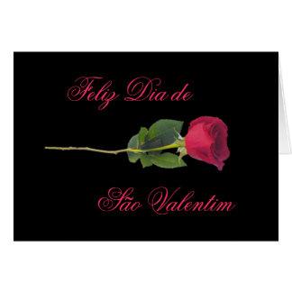 Portugués: el día de las rosa-Tarjetas del día de