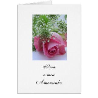 Portugués: El día de tarjeta del día de San Valent