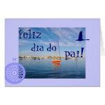 Portugués: El diámetro hace el día de padre de pai Felicitaciones