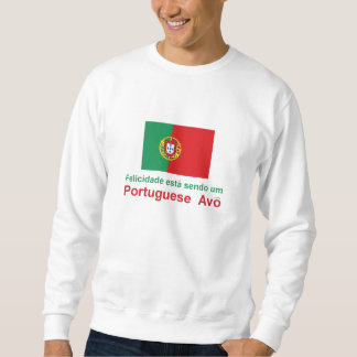 Portugués feliz Avo (abuelo) Sudadera Con Capucha