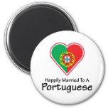 Portugués feliz casado imanes para frigoríficos
