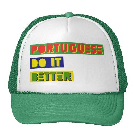 Portugués mejora gorras de camionero