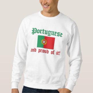 Portugués orgulloso sudaderas encapuchadas