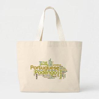 Portugués Podengo Bolsas Lienzo