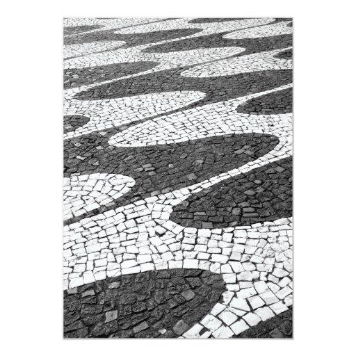 Portuguesa de Calçada Invitación 12,7 X 17,8 Cm
