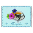 Portuguese: Agradecimento / Thank you Card