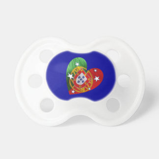 Portuguese-American baby BooginHead Pacifier