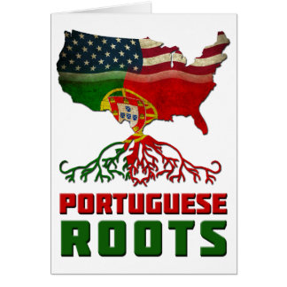 Portuguese American Roots Card