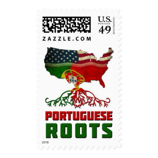 Portuguese American Roots Postage Stamp