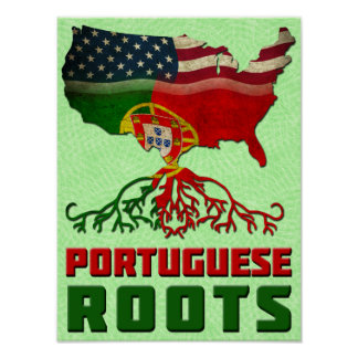 Portuguese American Roots Poster Print