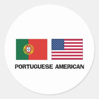Portuguese American Sticker