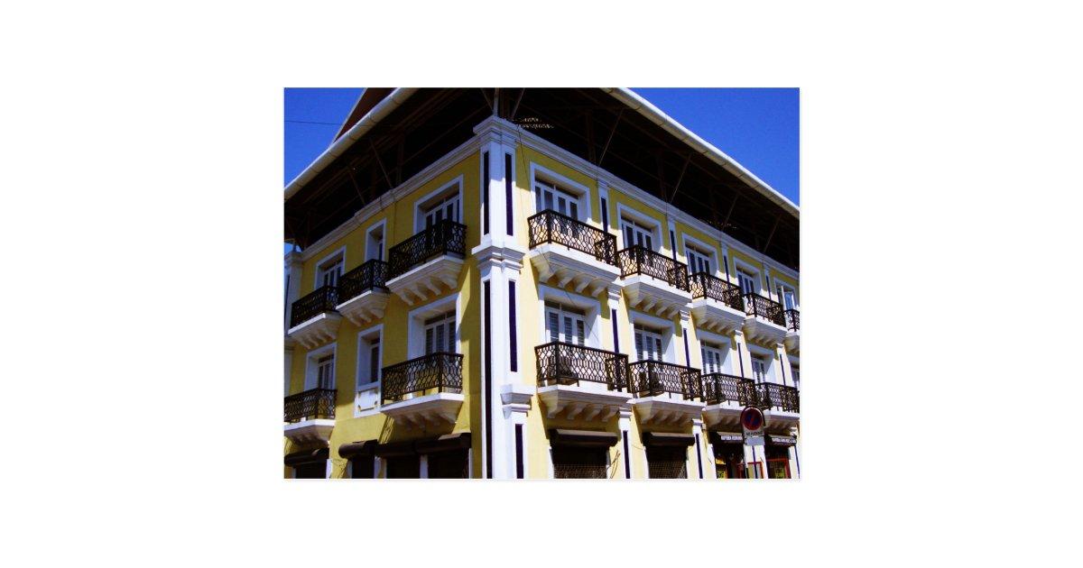 Portuguese architecture in goa india postcard zazzle for Architecture design for home in goa