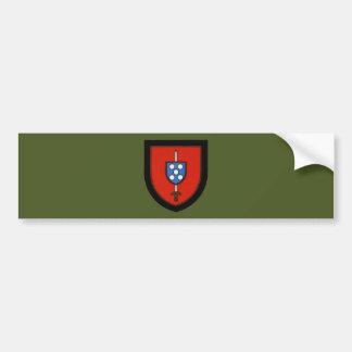 Portuguese Army Commandos Car Bumper Sticker
