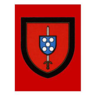Portuguese Army Commandos Postcard