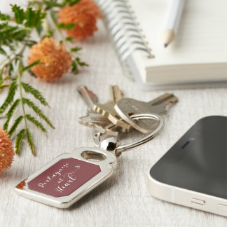 Portuguese At Heart Keyring, Portugal Keychain