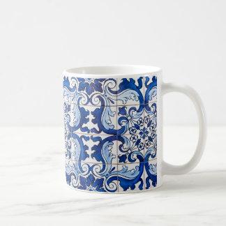 Portuguese Azulejo Glazed Tiles Coffee Mug
