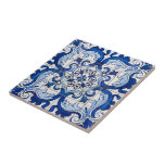 Portuguese Azulejo Pattern Tile at Zazzle
