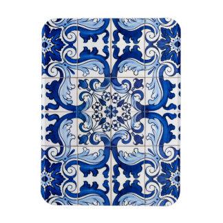 Portuguese Azulejo Seamless Pattern Magnet