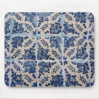 Portuguese Azulejo tiles Mouse Pad