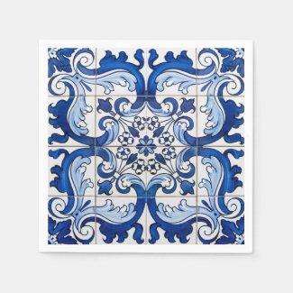 Portuguese Azulejo Vintage