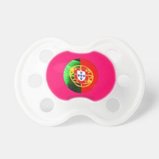 Portuguese baby BooginHead pacifier