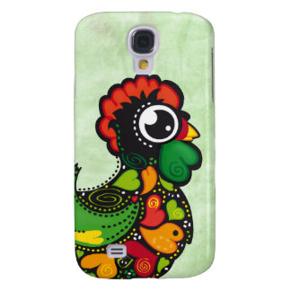 Portuguese Barcelos Rooster 3 Galaxy S4 Case