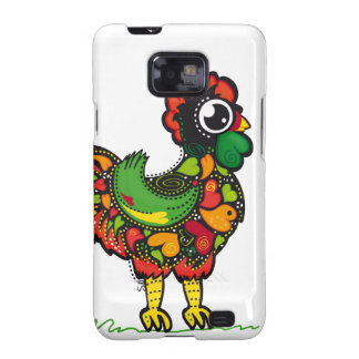 Portuguese Barcelos Rooster Samsung Galaxy S2 Cover