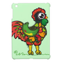 Portuguese Barcelos Rooster Case For The iPad Mini