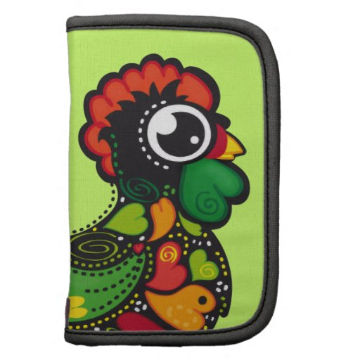 Portuguese Barcelos Rooster folio Planner