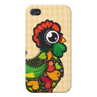 Portuguese Barcelos Rooster - Kawaii iPhone 4/4S Case