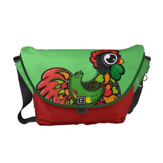 Portuguese Barcelos Rooster messenger bag